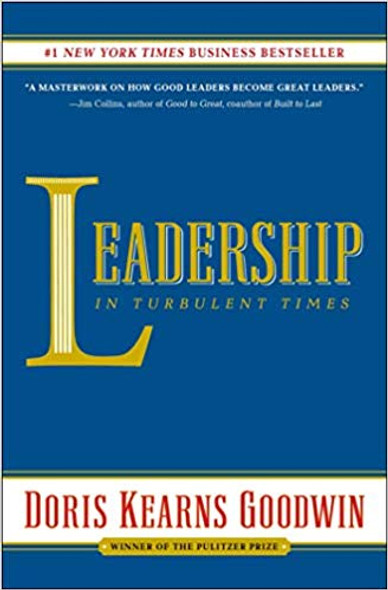 Leadership: In Turbulent Times [Paperback] Cover