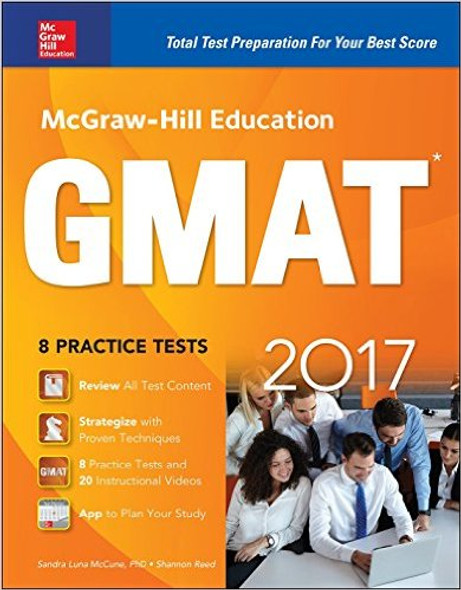 McGraw-Hill Education GMAT (2017) Cover