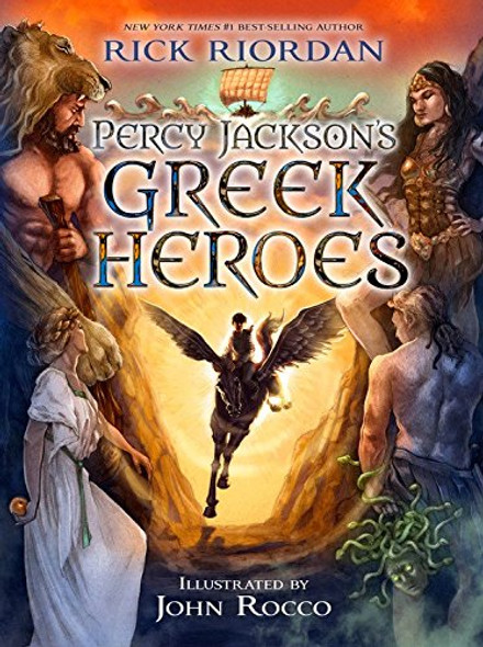Percy Jackson's Greek Heroes [Paperback] Cover