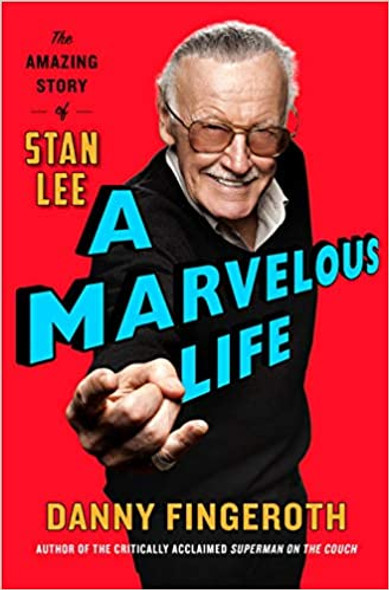 A Marvelous Life: The Amazing Story of Stan Lee [Paperback] Cover
