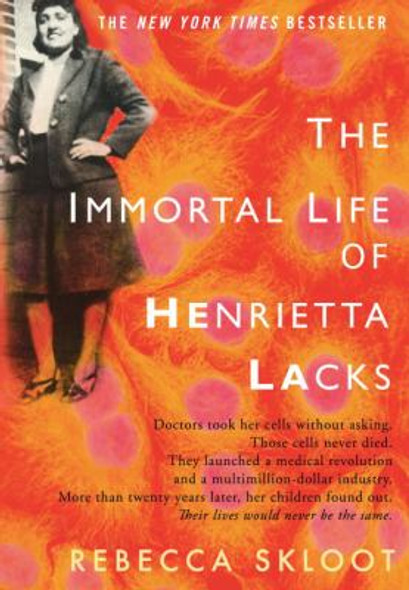 The Immortal Life of Henrietta Lacks [Hardcover] Cover