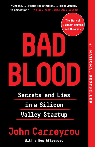 Bad Blood: Secrets and Lies in a Silicon Valley Startup [Paperback] Cover