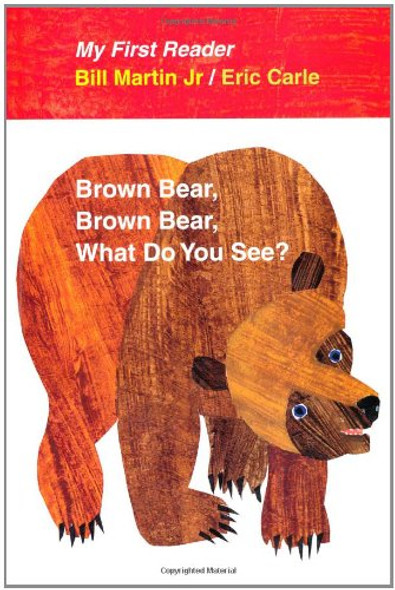Brown Bear, Brown Bear, What Do You See? [Hardcover] Cover