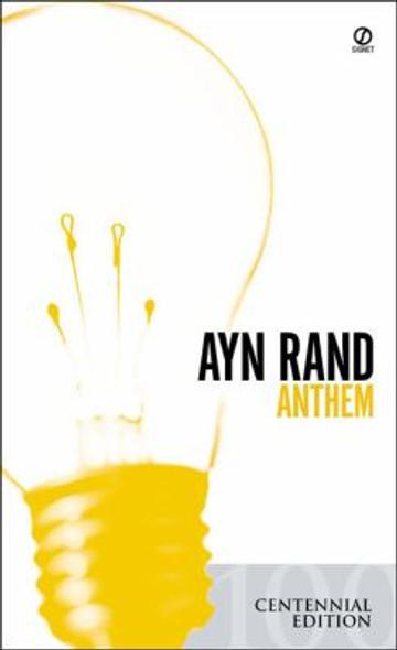 Anthem [Mass Market Paperback] Cover