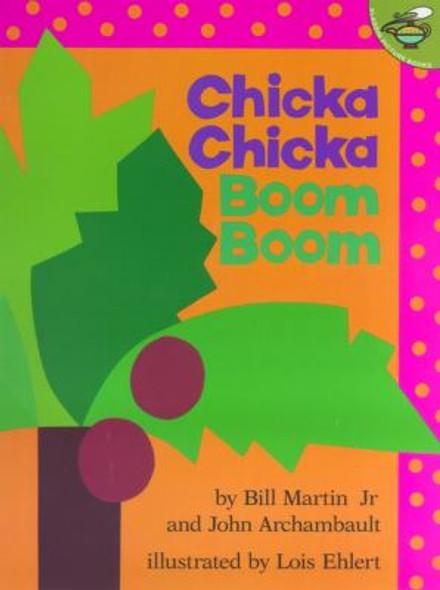 Chicka Chicka Boom Boom [Paperback] Cover