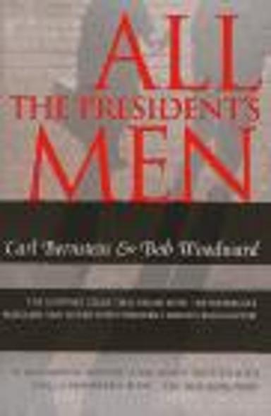 All the President's Men [Paperback] Cover