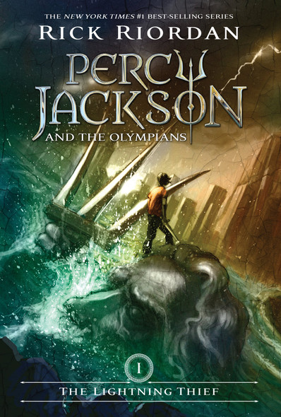 The Lightning Thief (Percy Jackson and the Olympians, Book 1) [Paperback] Cover