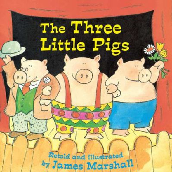The Three Little Pigs [Mass Market Paperback] Cover