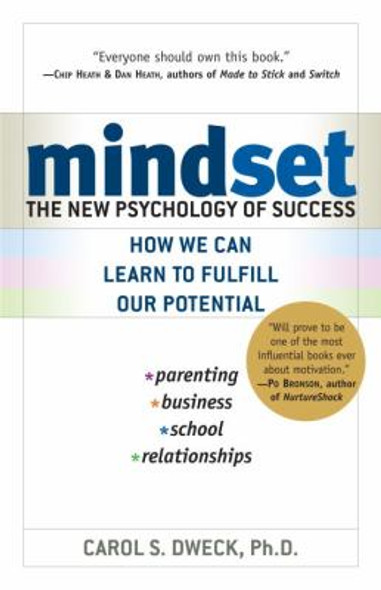 Mindset: The New Psychology of Success [Paperback] Cover