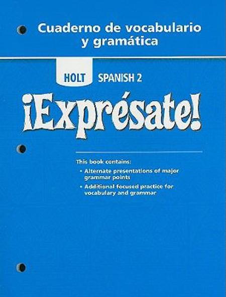 Expresate 2 : Cuaderno de Vocaciones [Paperback] Cover