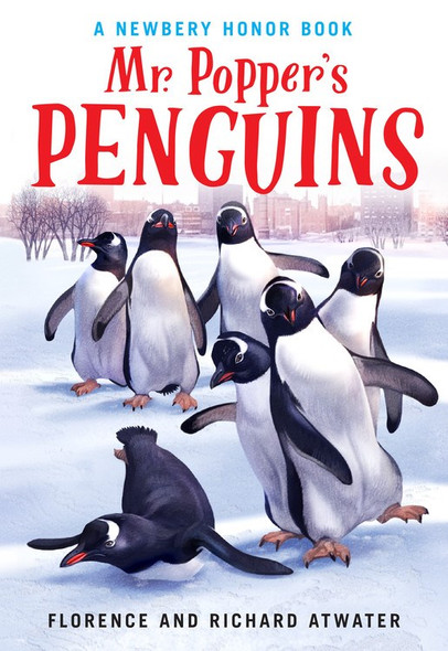 Mr. Popper's Penguins - Cover