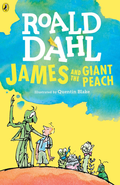 James and the Giant Peach [Paperback] Cover