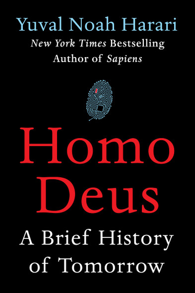 Homo Deus: A Brief History of Tomorrow [Hardcover] Cover