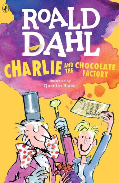 Charlie and the Chocolate Factory [Paperback] Cover