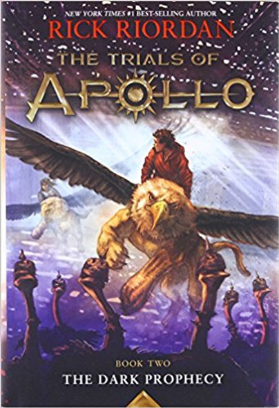 The Trials of Apollo, Book Two: The Dark Prophecy [Paperback] Cover