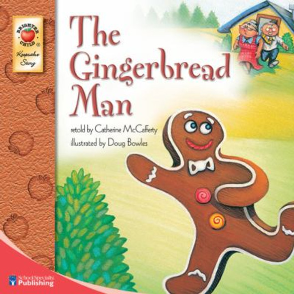 The Gingerbread Man [Paperback] Cover