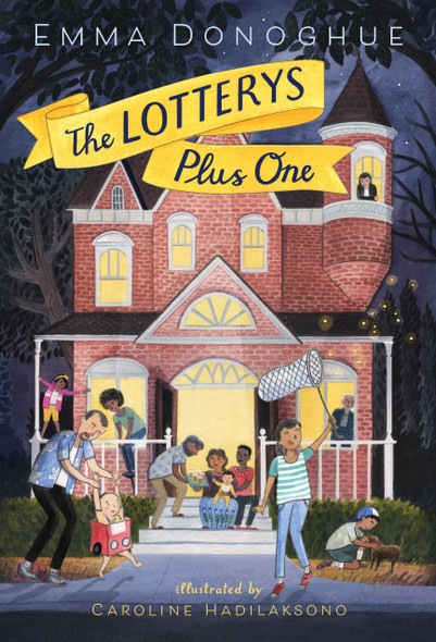 The Lotterys Plus One [Hardcover] Cover