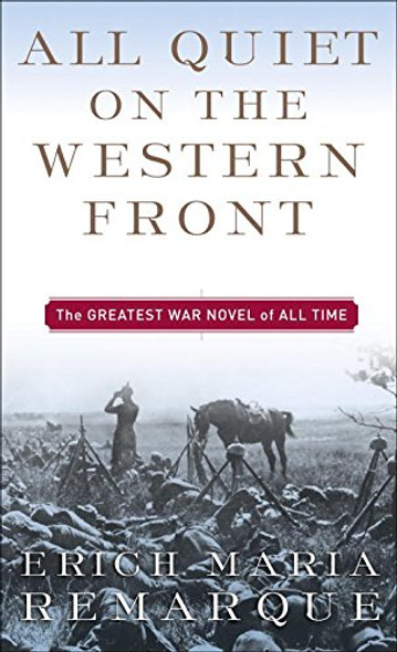 All Quiet on the Western Front [Mass Market Paperback] Cover