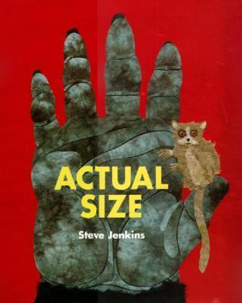 Actual Size [Hardcover] Cover