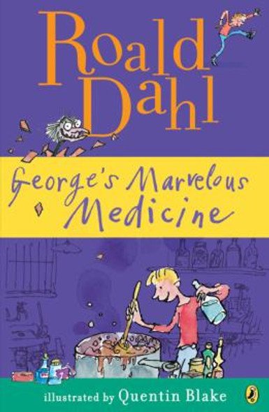 George's Marvelous Medicine [Paperback] Cover