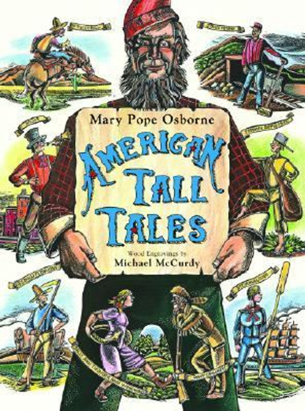 American Tall Tales [Hardcover] Cover