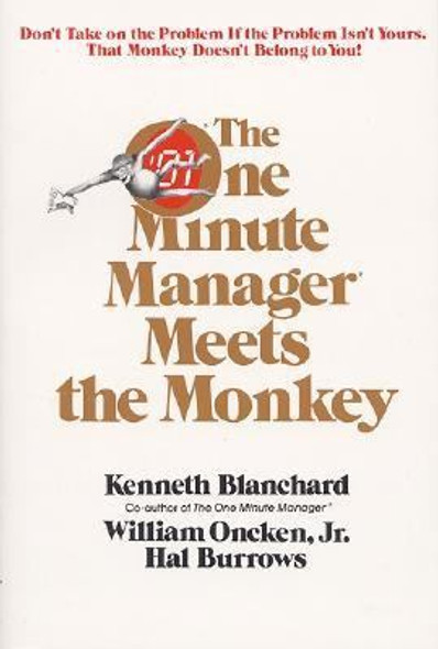 The One Minute Manager Meets the Monkey [Paperback] Cover
