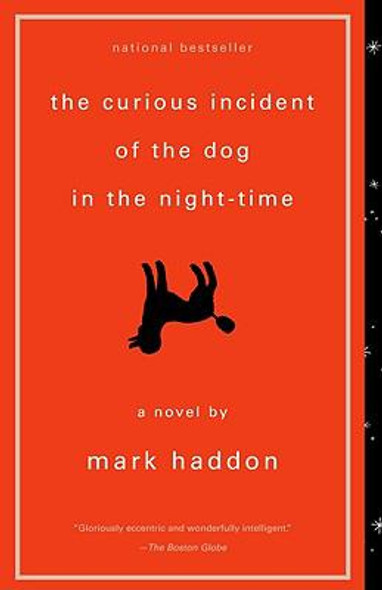The Curious Incident of the Dog in the Night-Time [Paperback] Cover