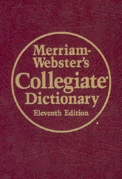 Merriam-Webster's Collegiate Dictionary [Mixed Media] Cover