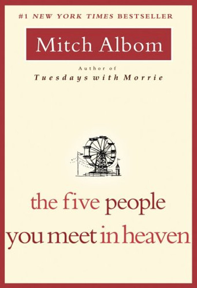 The Five People You Meet in Heaven [Paperback] Cover