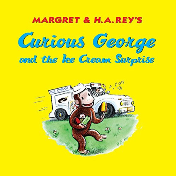 Curious George and the Ice Cream Surprise Cover