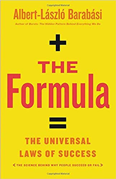 The Formula: The Universal Laws of Success [Hardcover] Cover