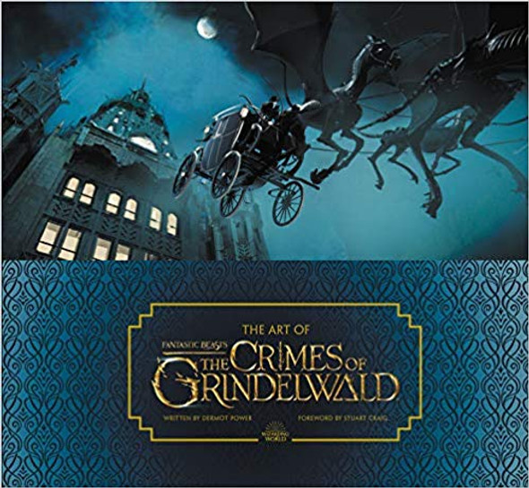 The Art of Fantastic Beasts: The Crimes of Grindelwald [Hardcover] Cover
