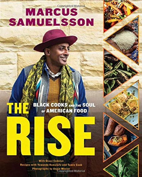 The Rise: Black Cooks and the Soul of American Food: A Cookbook Cover