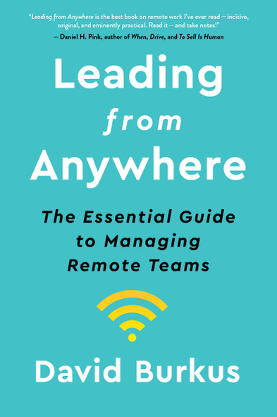 Leading from Anywhere: The Essential Guide to Managing Remote Teams - Cover
