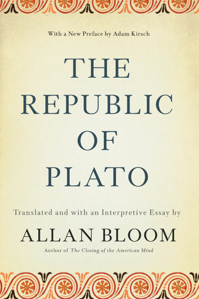 The Republic of Plato Cover