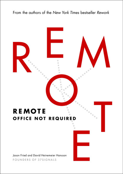 Remote: Office Not Required - Cover