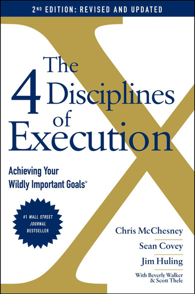The 4 Disciplines of Execution: Updated and Expanded - Cover