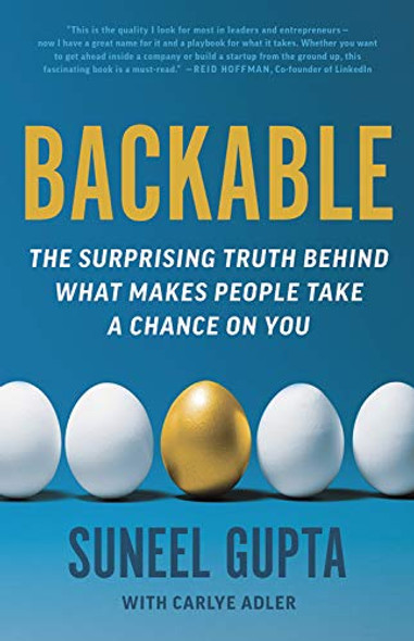 Backable: The Surprising Truth Behind What Makes People Take a Chance on You - Cover