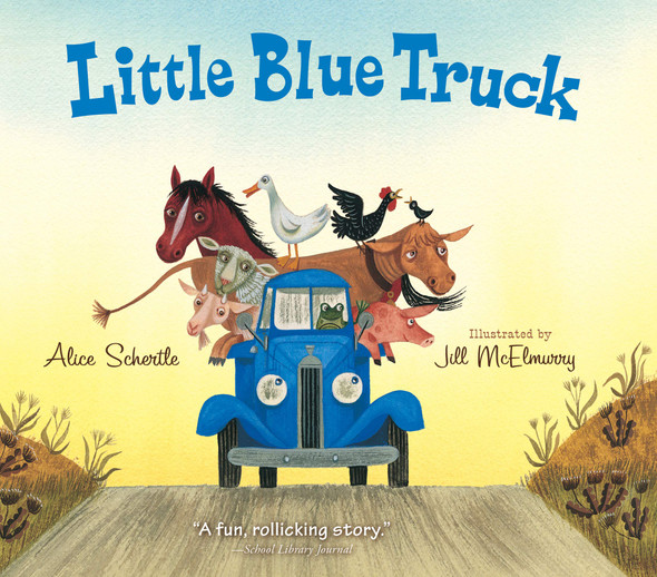 Little Blue Truck Board Book - Cover