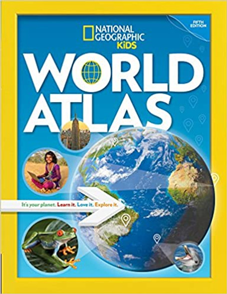 National Geographic Kids World Atlas, 5th Edition [Hardcover]