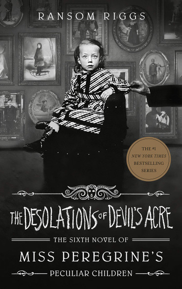 The Desolations of Devil's Acre - Cover