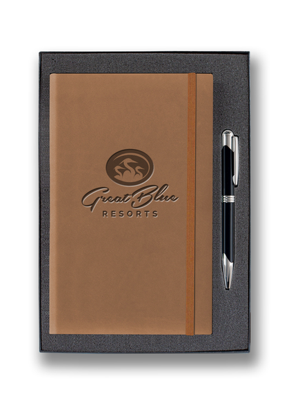 Medium Banded Tucson Journal Gift Set