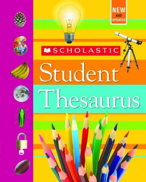 Scholastic Student Thesaurus - Cover