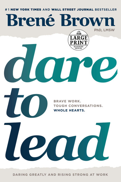 Dare to Lead - Large Print - Cover