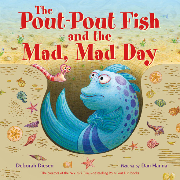 The Pout-Pout Fish and the Mad, Mad Day - Cover