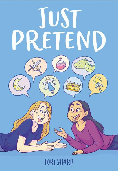 Just Pretend - Cover