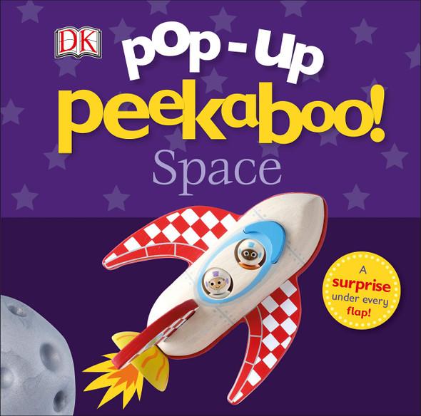 Pop-Up Peekaboo! Space - Cover