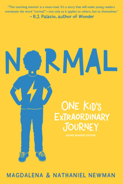 Normal: One Kid's Extraordinary Journey - Cover
