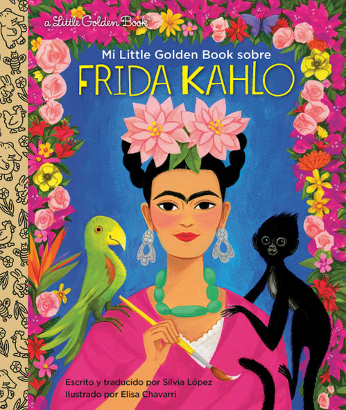 Mi Little Golden Book Sobre Frida Kahlo - Cover