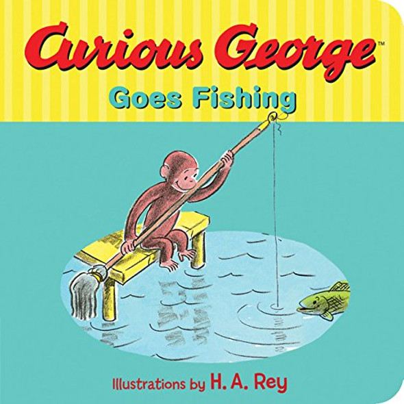 Curious George Goes Fishing - Cover